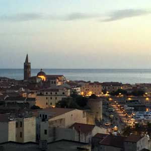 Surroundings: Alghero, panoramic view