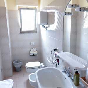 Lodging: Ensuite bathroom