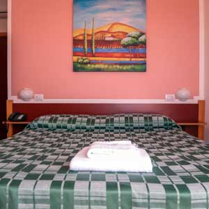 Lodging: Double room