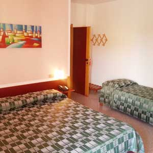 Lodging: Triple room